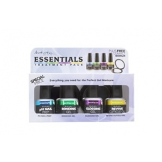 #2100061 Colour Gloss Essential Pack + Gift  4x15 ml. Bespaar 20%!!!