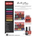 #2100116 Artistic Duet - Little Red Suit (Scarlet Red Crème) 2x15 ml.
