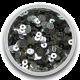 Sequins Zilver 0,5 gram