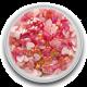 Zijden hart Fuchsia 0,5 gram (Mini)