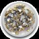 Zijden hart Goud 0,5 gram (Mini)