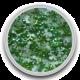 Zijden strikje Groen 0,5 gram (Mini)