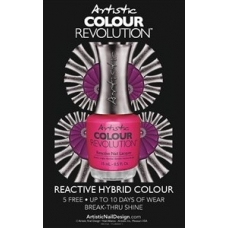 #77-2300037-1 Artistic Naildesign Colour Revolution Raam sticker