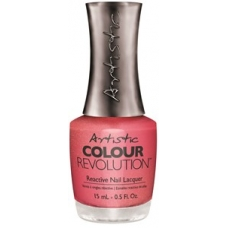 #2300094 Hell On Wheels ( Bright Coral Shimmer) 15 ml.